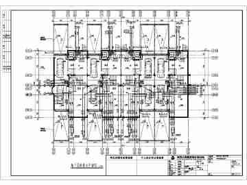 三层联排别墅图纸字母免费下载_CO土木v图纸的图纸精华车工中图片