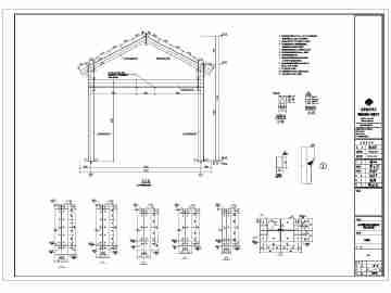 钢结构图纸房图纸土木免费下载_CO精华v图纸cad会展下载别墅图片
