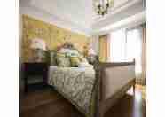 最新出品现代美式乱混风格三室两厅家装施工图(含实景效果图)
