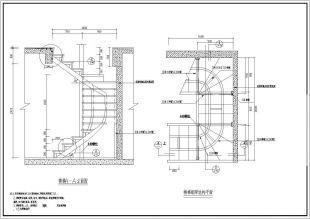 图纸复式钢结构做法施工武器CAD设计详细精神20附楼梯魔标准图纸60图片