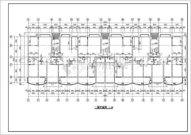 五层年限职工企业宿舍楼建筑施工cadv年限单身装修设计合理使用国家平面规定图片