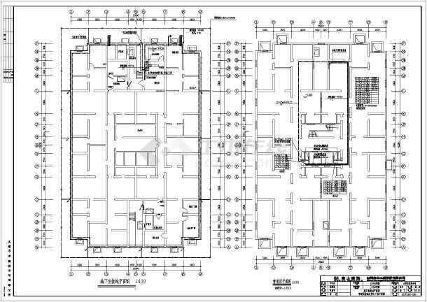 18层住宅楼全套格式电气照明v全套cad施工图autocad2013小区图片