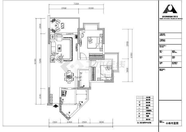设计图分享 70平方米房子设计图  房子设计图地中海风格三居室小清新图片