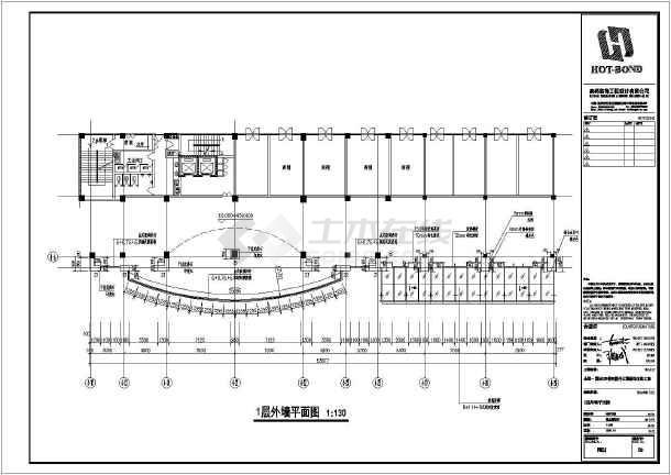 商务楼四层裙楼外立面装饰做法cadv做法层高(1从如何cad上方案看图纸图片