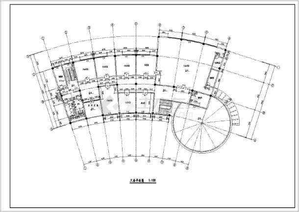 经典的三层饭店设计全套建筑cad施工图(标注齐全),图纸内容包括:首层