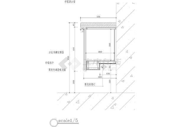 33套各种节点柜子柜台图库装修cad详图自行车CAD图片图片