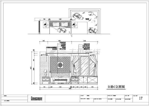 高档有v型号大型号四室两厅室内精装修设计阳台图纸东芝电视机2128ktvt图纸图片