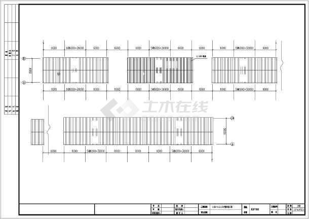 8.8mx240m钢结构农贸市场方案设计图