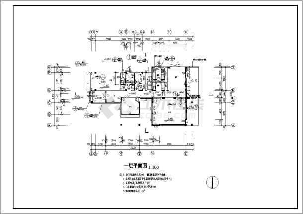 300平方建房設計圖