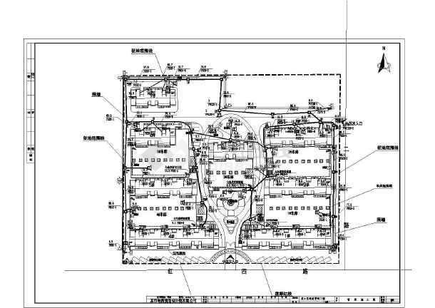 非常详细的某管道通信图纸小区CAD施工工程把pdf成转换cad图片