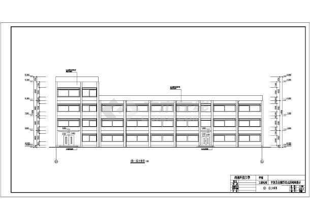 2300平米4层幼儿园建筑、结构全套设计图(框架结构)毕业设计(包括计算书、任务书、图纸、翻译、目录、详细毕业答辩PPT)-图1