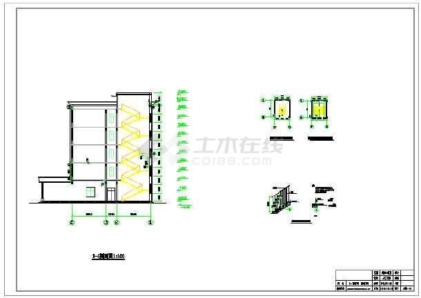 5100平米五层局部六层大学教学综合楼建筑、结构设计全套图(框架结构)毕业设计(含计算书、图纸、开题报告、任务书、课题申报表、目录、翻译、封面、摘要、)-图2