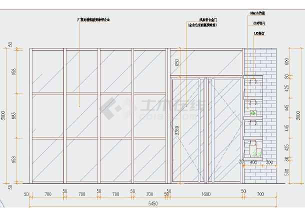 现代整体时尚店图纸店面装修cadv整体图纸(含效110kv变电站cad蛋糕图片