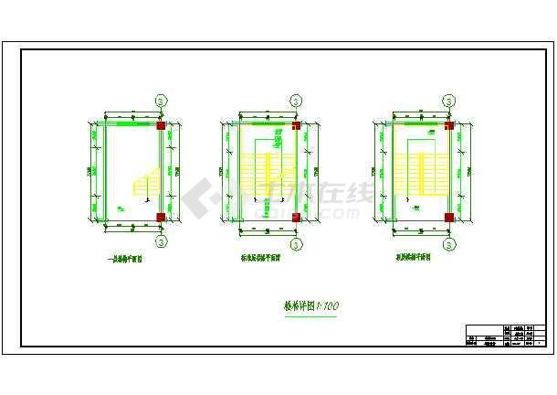 7200平米七层教学综合楼建筑、结构设计全套图(框架结构)毕业设计(计算书、任务书、封面、翻译、综述、摘要、开题报告、图纸)-图3