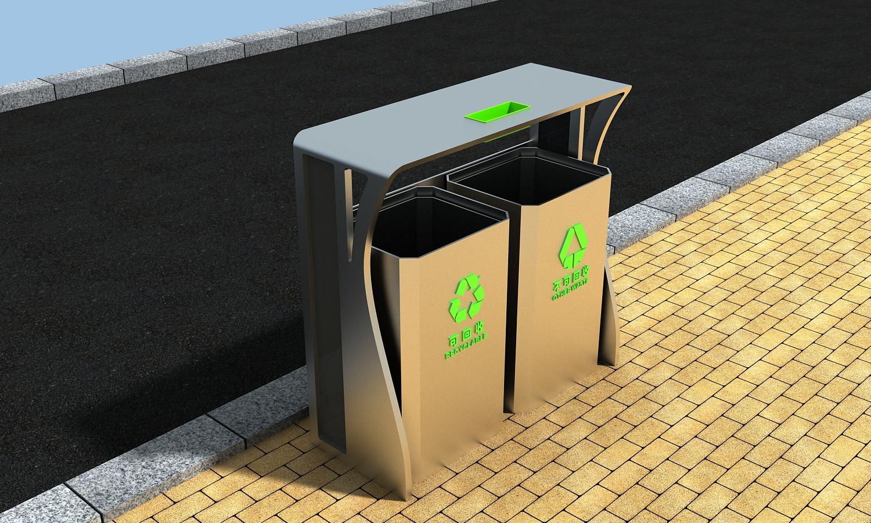 户外公共设施3d模型下载图片