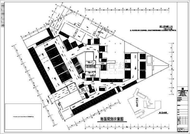 某车库地下图纸建筑施工平面酒店(CAD)cad2014窗口删除如何图片