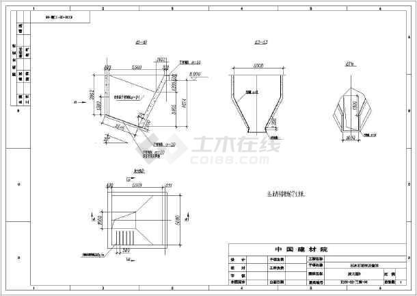 石灰石破碎及输送图例流程图(CAD)_cad工艺下垂柳cad图纸图片