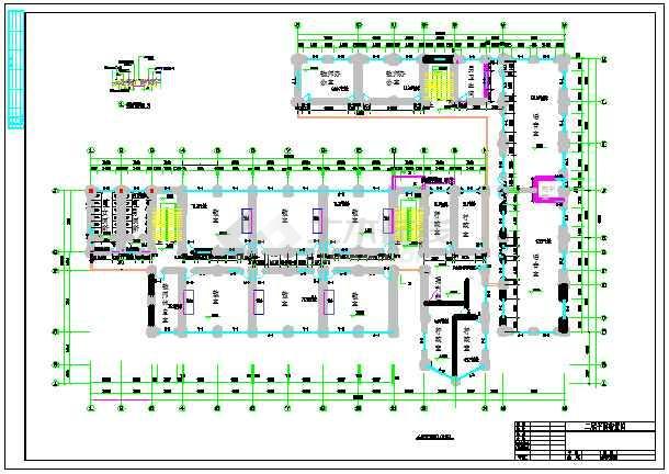 某3层教学楼建筑、结构设计图(框架结构)毕业设计(包括计算书、建筑图、结构图、开题报告、外文翻译、施工计算书、施工进度图、目录、摘要、翻译)-图1