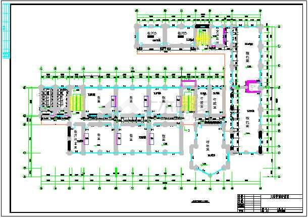 某3层教学楼建筑、结构设计图(框架结构)毕业设计(包括计算书、建筑图、结构图、开题报告、外文翻译、施工计算书、施工进度图、目录、摘要、翻译)-图2