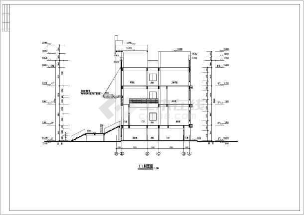 3600平米四层综合办公教学楼建筑、结构全套设计图(框架结构)毕业设计(含详细毕业答辩ppt演示内容、计算书、任务书、开题报告、建筑图、结构图、参考文献、摘要、目录、翻译、)-图2