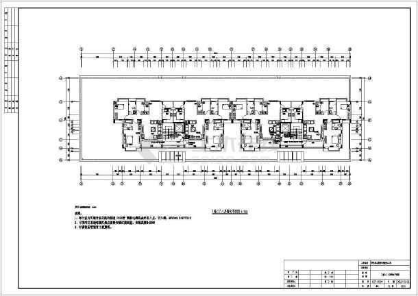 某工程住宅楼小区智化电气cadv工程施工图_cad怎么捕捉设置点图片