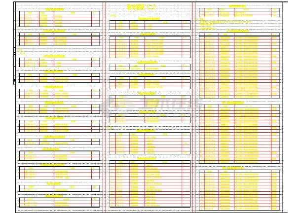 47万平商业建筑群沙龙365国际系统设计全套施工图,共400张-图3