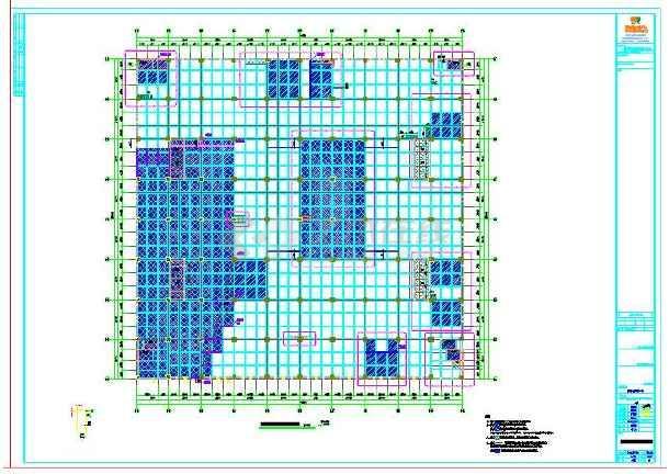 物流仓库结构设计图片1