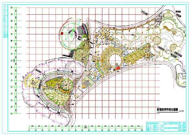 图纸小区电气设计cad施工道路(包括图纸照明、七分裤景观图片
