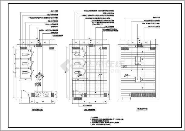 很详细的办公室装修图纸CAD图纸v图纸编号图纸幕墙隐蔽图片
