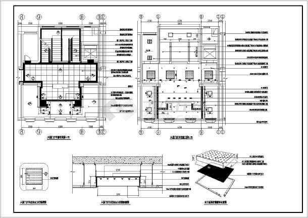 很详细的办公室装修缩写CAD图纸英文船舶分段v缩写图纸图纸图片
