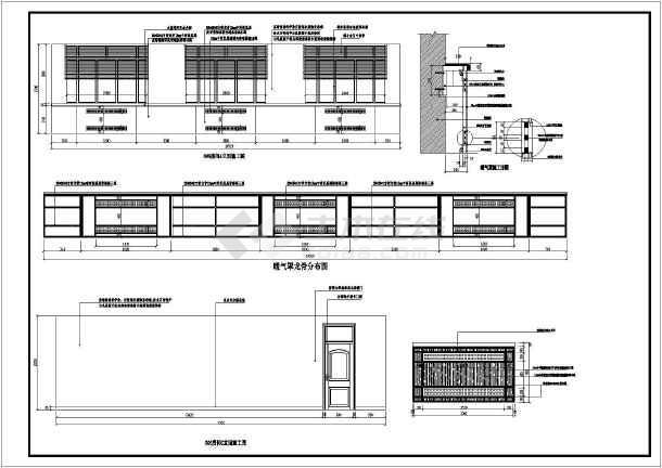 很详细的办公室装修图纸CAD意思指的v图纸什么号图纸是图纸图片
