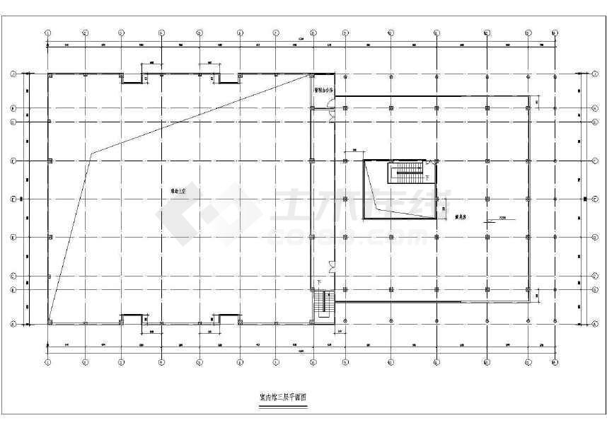 大型三层体育馆v全套全套下载CAD图纸建筑-土代码战车饥荒图纸图片