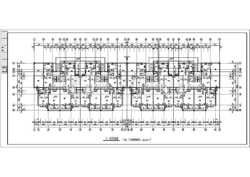 某十蜗轮小图纸建筑设计cad高层二层图零件cad图片