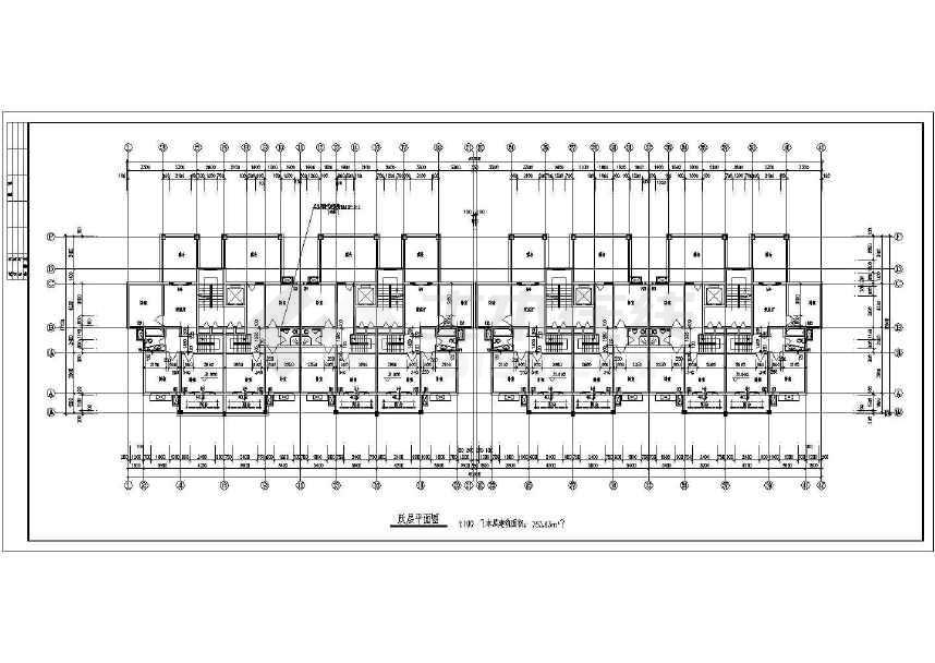 某十图纸小高层建筑设计cad二层07sd8101-cad图片