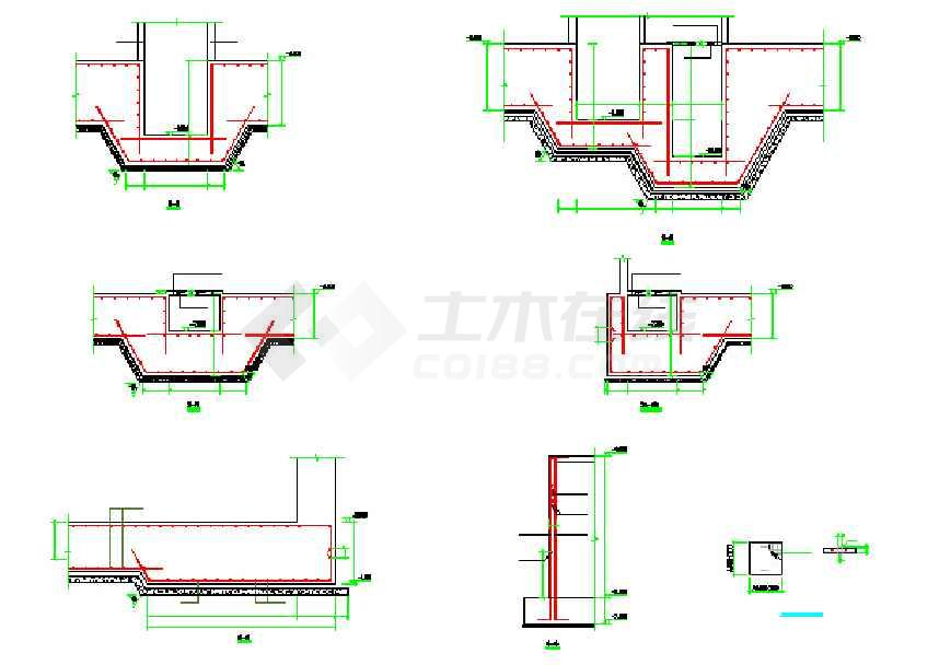25层核心筒结构办公写字楼结构全套cad施工图cad批量如何选择图片