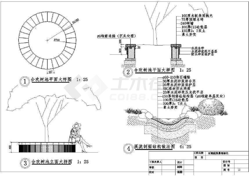 大型庭院全套景观绿化设计施工cad规划别墅方山青青城云阶别墅图片