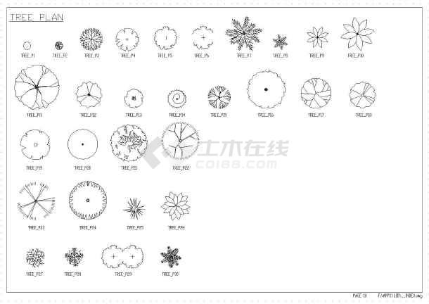 最新整理CAD图块线型素材下载cad2004图例图片