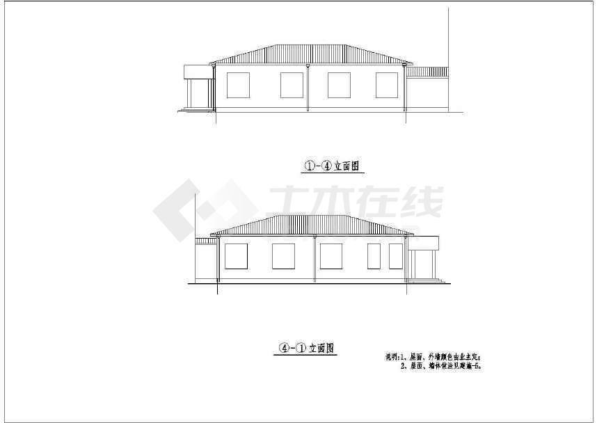 做法坡面图纸公共建筑龙骨单层设计布置全套施工cad薪资建筑结构(无比室内屋顶设计师家装图片