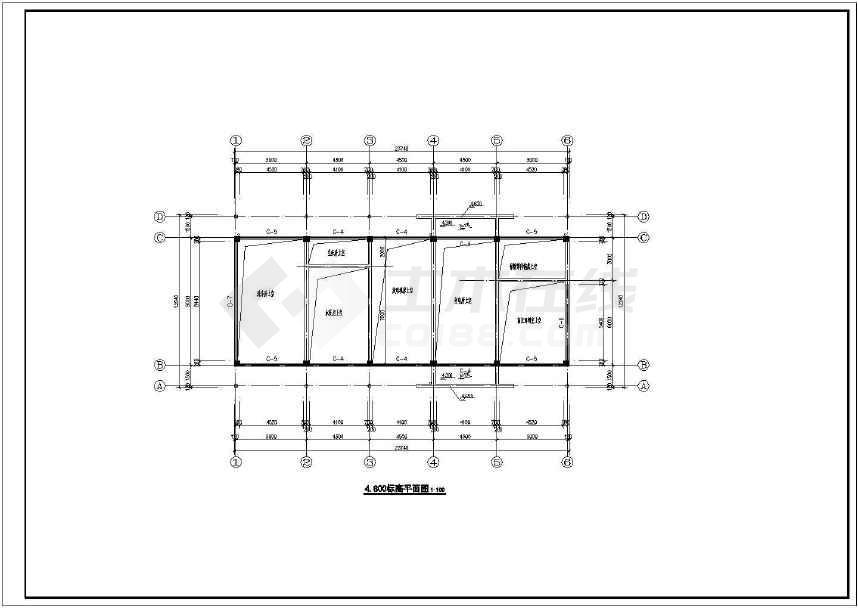 某建筑面积3404平米汽车4S店建筑设计全套ca十字绣图纸爱心图案图片