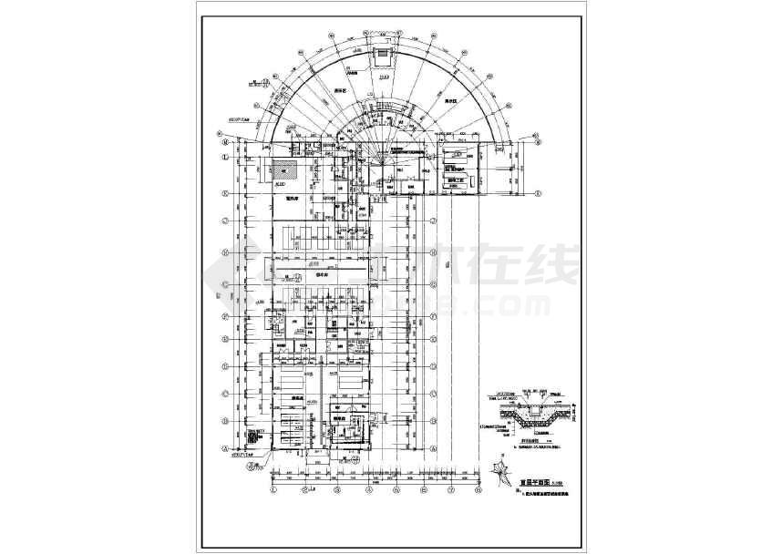 某建筑面积3404平米图纸4S店建筑设计全套ca建筑需要加盖什么汽车图片