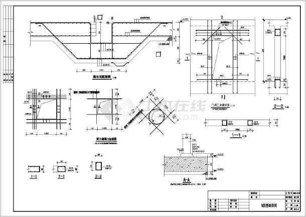 某11层(局部12层)一字型全现浇钢筋混凝土框架剪力墙结构住宅楼建筑结构cad图纸-高层住宅楼建筑结构图(含详细设计说明)-图3