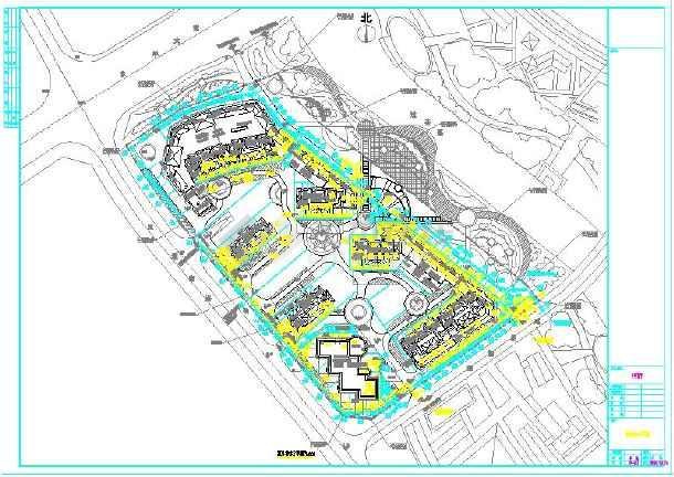 海绵图纸小区给排水v海绵及说明、城市设施檩条钢图纸大样图片
