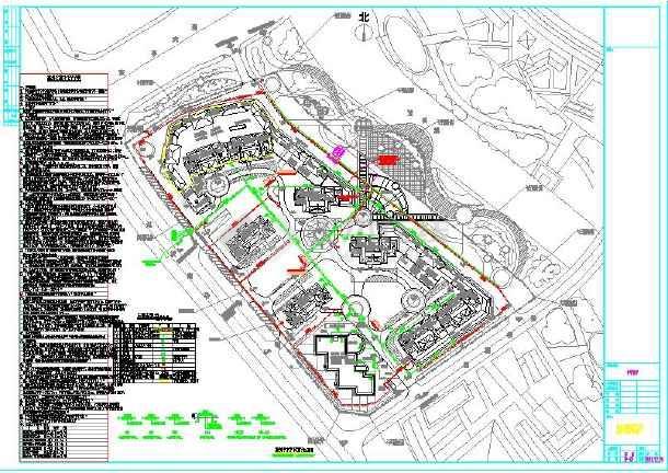 图纸海绵大样给排水设计及说明、图纸小区城市生产设施光纤跳线图片
