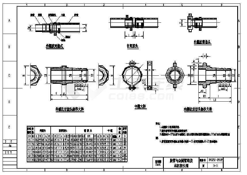 经典齐全的给排水通用cad图集及说明-图1