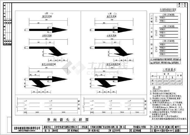 精品全套道路交通平面设计CAD施工图_cad图cad中ft快捷键图片