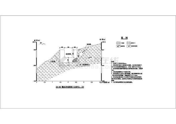 滑坡施工组织设计图纸-图2