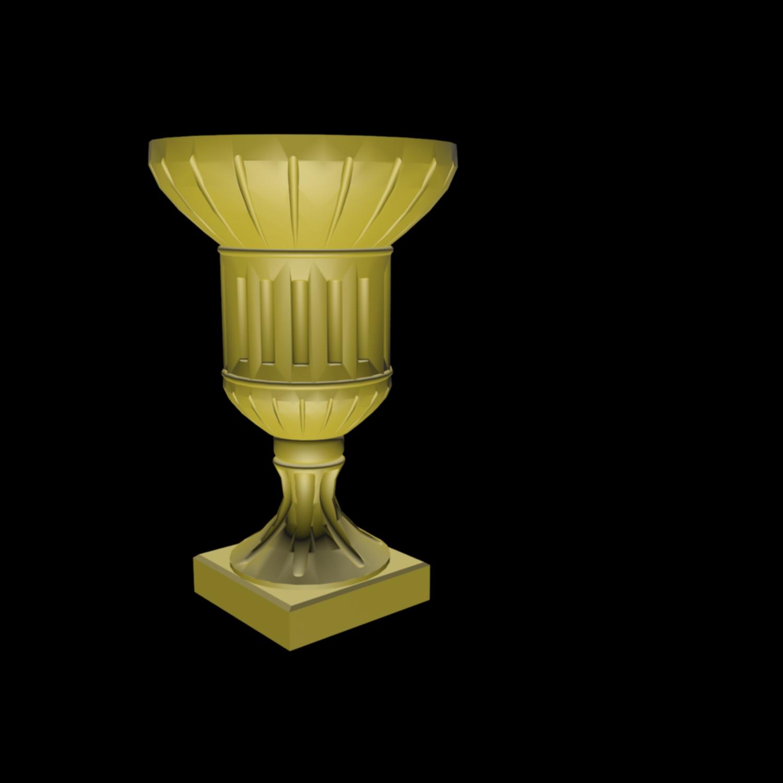 罗马柱路引花盆3d模型下载 - 罗马柱素材,模型下载