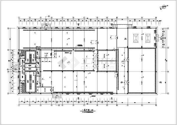 水产公司单层冷库仓库建筑设计施工cad平立面方案图(冷藏库保温大样)