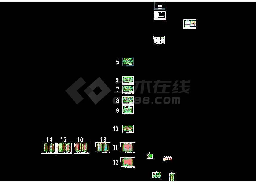 10层住宅楼施工组织设计及工程量清单报价(工程造价毕业设计)-图1