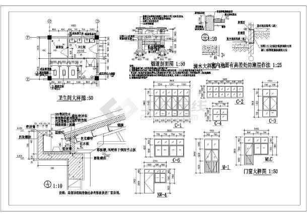某锅炉房建筑施工图